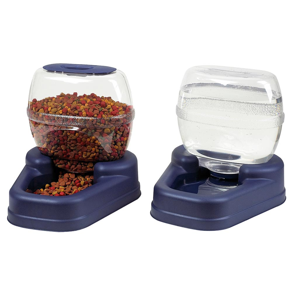 Petite Gourmet Combo Pack Pet Feeder and Waterer