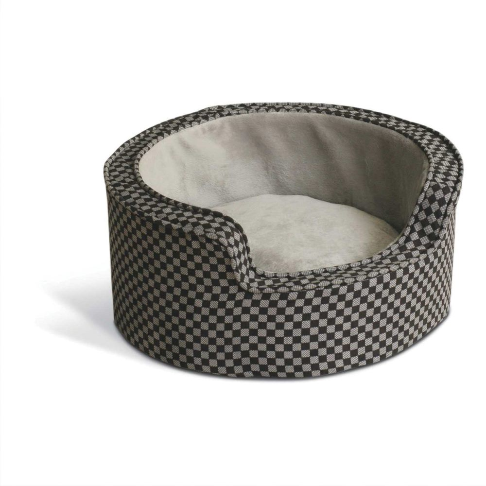 Round Comfy Sleeper Self-Warming Pet Bed