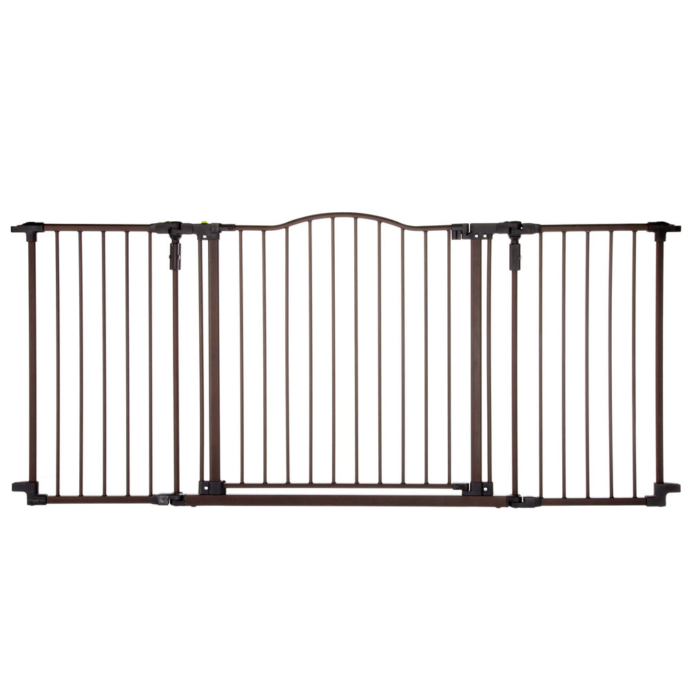 Deluxe D?cor Wall Mounted Pet Gate