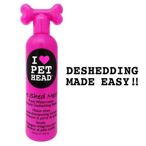De Shed Me Miracle Deshedding Rinse Watermelon 12oz