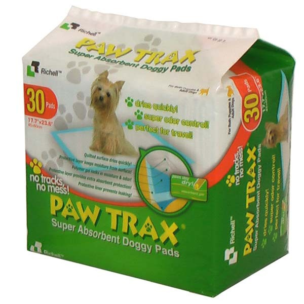 Paw Trax Pet Training Pads 30 Count