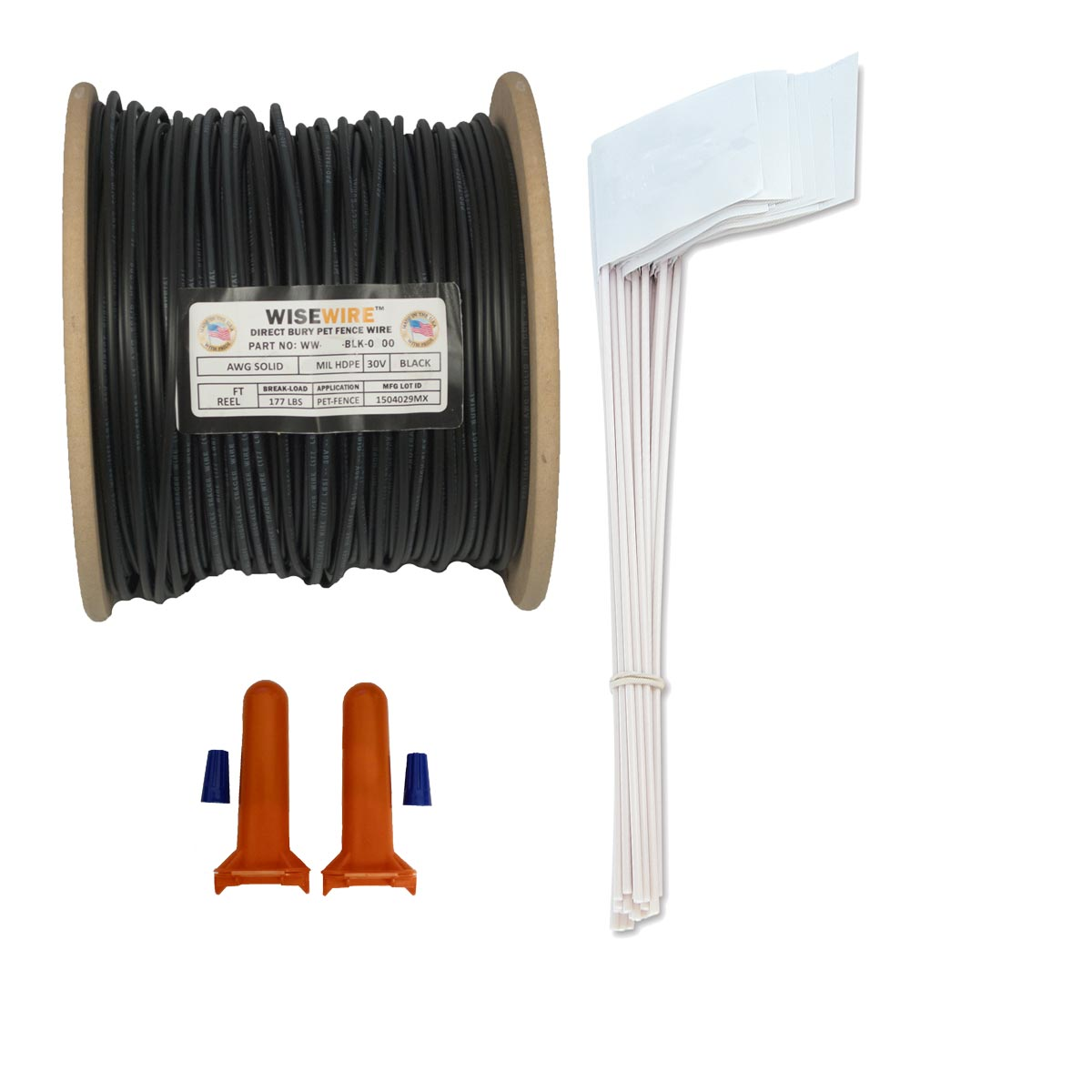 WiseWire? 18 gauge Boundary Wire Kit 500ft