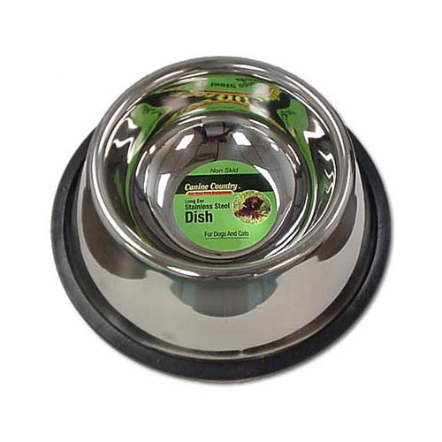 No-Tip Non-Skid Stainless Steel Bowl 32 oz.